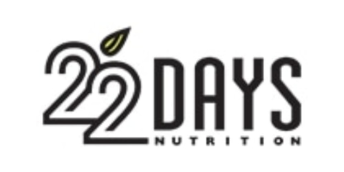 22 Days Nutrition coupon