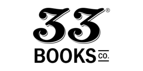 33 Books Co. coupon