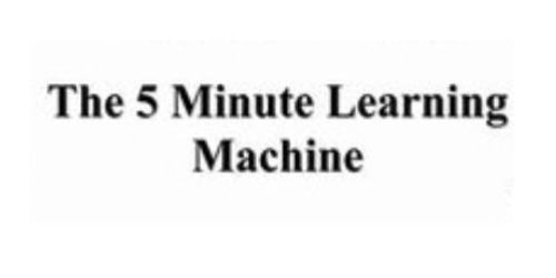 5 Minute Learning Machine coupon