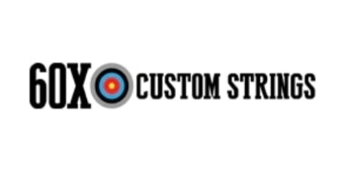 60X Custom Strings coupon