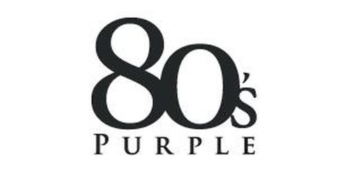 80s Purple coupon