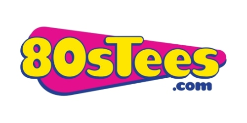 80sTees.com coupon