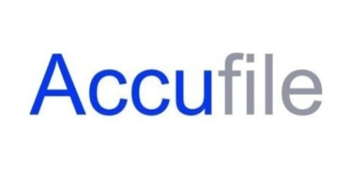 Accufile coupon