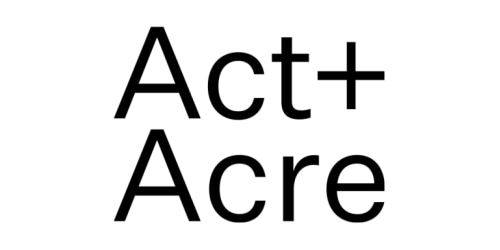 Act and Acre coupon