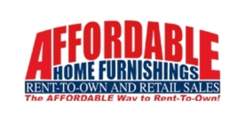 Affordable Home Furnishings coupon