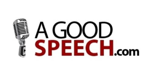 A Good Speech coupon