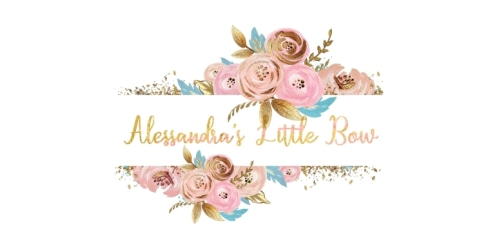 Alessandra's Little Bow coupon
