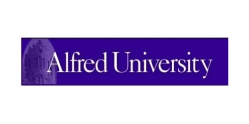 Alfred University coupon