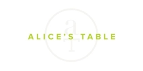 Alice's Table coupon