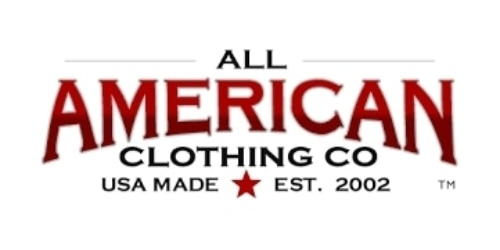 All American Clothing coupon
