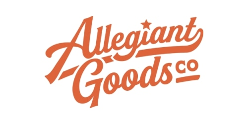 Allegiant Goods Co. coupon
