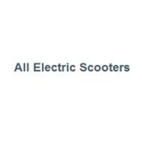 All Electric Scooters