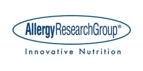 Allergy Research Group coupon