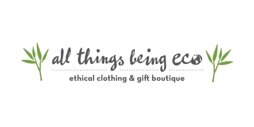 All Things Being Eco coupon