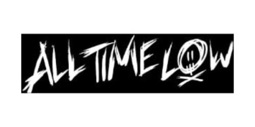 All Time Low Online Store coupon