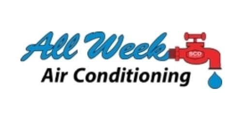 All Week Air Conditioning coupon