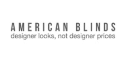 American Blinds coupon