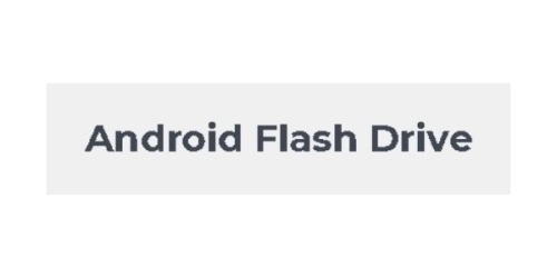 Android Flash Drive coupon
