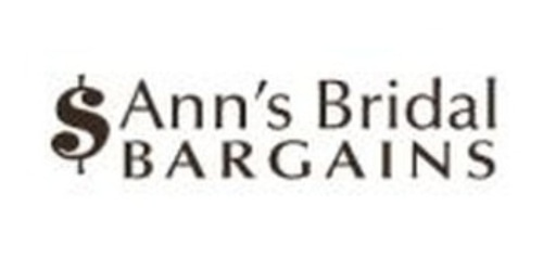 Ann's Bridal Bargains coupon