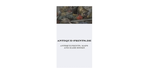Antique-prints.de coupon