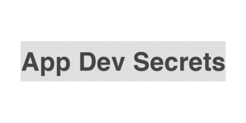 App Dev Secrets coupon