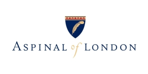 Aspinal of London coupon