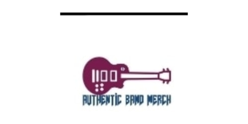 Authentic Band Merch coupon