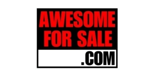 Awesome For Sale coupon