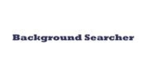 BackgroundSearcher.com coupons