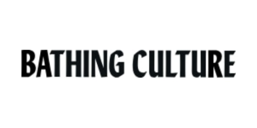 Bathing Culture coupon
