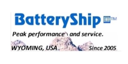 BatteryShip coupon