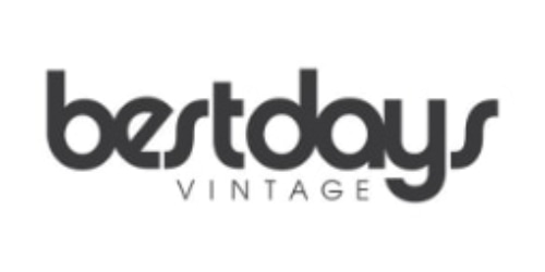 Best Days Vintage coupon