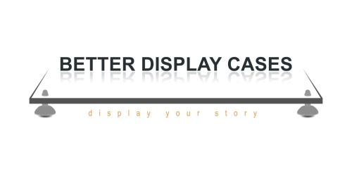 Better Display Cases coupon