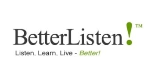 BetterListen.com coupon