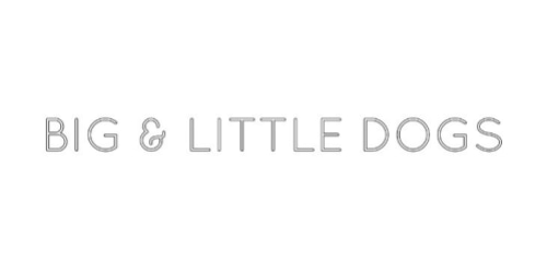Big & Little Dogs coupon