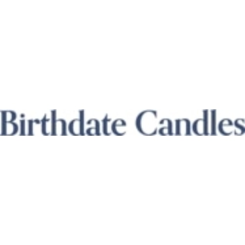 Birthdate Candles
