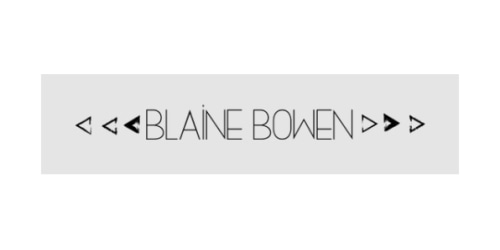 Blaine Bowen coupon