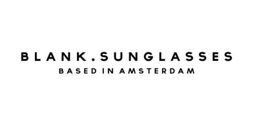 Blank Sunglasses coupon