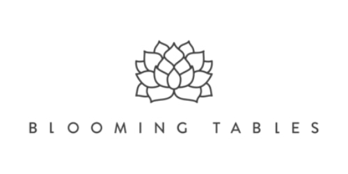 Blooming Tables coupon
