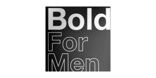 Bold For Men coupon