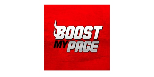 Boost My Page coupon