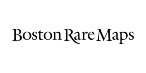 Boston Rare Maps coupon