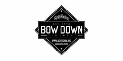 Bow Down Clothing coupon