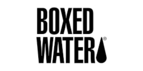 Boxed Water Is Better coupon