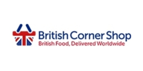 British Corner Shop coupon