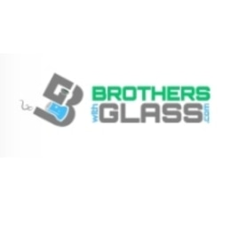 Brothers with Glass