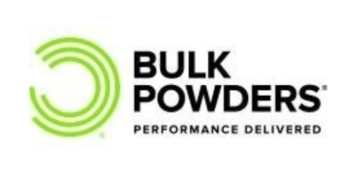 Bulk Powders coupon