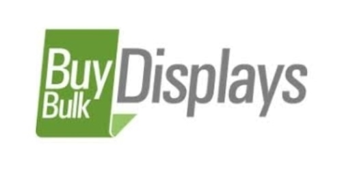 Buy Bulk Displays coupon