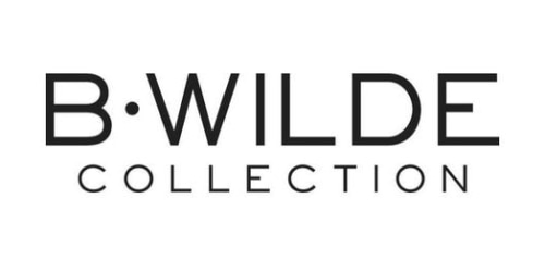 B.WILDE Collection coupon