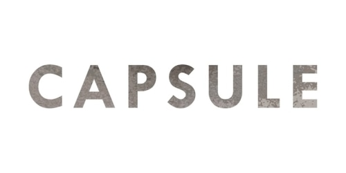 Capsule Home coupon